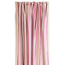 Mod Stripes Cotton Rod Pocket Curtain Single Panel