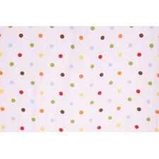 Baby and Me Dots Crib Fitted Sheet (Set of 2)