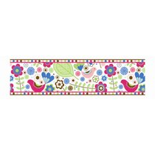Botanical Sanctuary Multicolor Wall Border