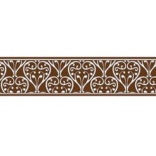 Damask Wall Border