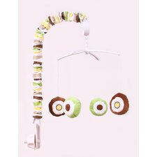Mod Dots and Stripes Musical Mobile