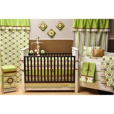 <strong>Bacati</strong> Mod Dots and Stripes Crib Sheet