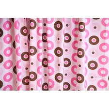Mod Dots Cotton Rod Pocket Curtain Panel