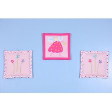 <strong>Bacati</strong> Fairy Land 3 pieces Wall Hanging Set
