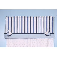 Little Sailor Rod Pocket Tailored Curtain Valance