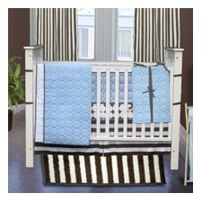 <strong>Bacati</strong> Quilted Circles 4 Piece Crib Bedding Collection