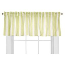 "Flower Basket Rod Pocket Tailored 58"" Curtain Valance"