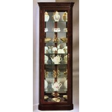 <strong>Philip Reinisch Co.</strong> Lighthouse Octave III Corner Curio Cabinet