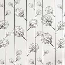 <strong>ferm LIVING</strong> Ribbed Wallsmart Floral Botanical Wallpaper