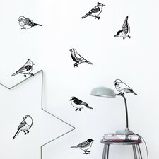 <strong>ferm LIVING</strong> Drawing Birds Wall Decal