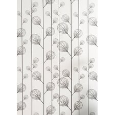 Ribbed Wallsmart Wallpaper in Black / Beige