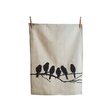 Lovebirds Kitchen Tea Towel