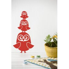 Three Owls Wallsticker