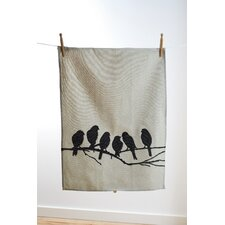 <strong>ferm LIVING</strong> Lovebirds Kitchen Tea Towel