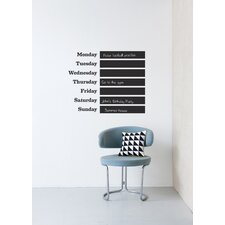 This Week Wall Sticker