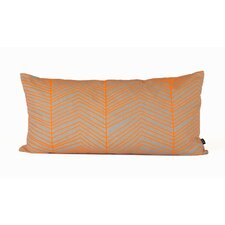 Herringbone Cotton Boudoir Pillow