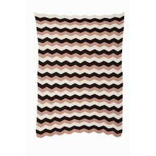 <strong>ferm LIVING</strong> Zig Knitted Cotton Blanket