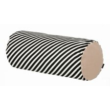 <strong>ferm LIVING</strong> Stripe Cotton Cylinder Cushion