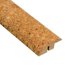 "0.5"" x 1.75"" Cork Hard Surface Reducer Molding in Natural"