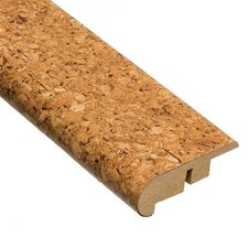 "0.5"" x 2.13"" Stair Nose Molding Cork in Natural"