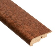"0.5"" x 2.13"" Stair Nose Molding Cork in Mocha"