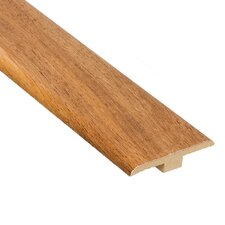"0.25"" x 1.44"" Laminate Pecan T-Molding in Natural"