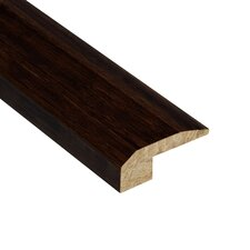"Renew and Restore 0.5"" x 2.13"" Bamboo Carpet Reducer Molding in Walnut"