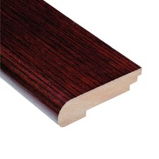 "0.38"" x 3.5"" Teak Stair Nose in Cherry"
