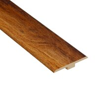 "0.25"" x 1.44"" Laminate Maple T-Molding in Honey"