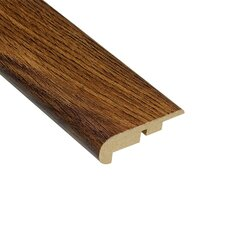"0.44"" x 2.25"" Laminate Oak Stair Nose in Caramel"