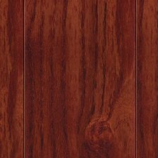 "Hardwood 3-1/2"" Engineered Teak Flooring in Cherry"