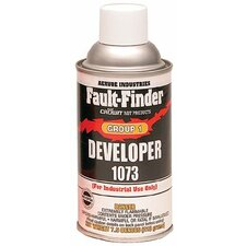 Group 1 Cleaner, Penetrant, & Developer - fault finder developer1079 (Set of 12)