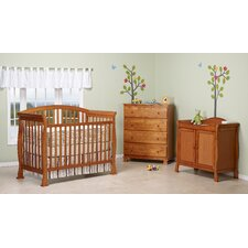 <strong>DaVinci</strong> Thompson 4-in-1 Convertible Crib Set with Toddler Bed Conversion Kit