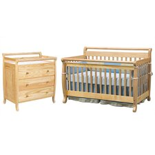 Emily 4-in-1 Convertible Crib and Changer