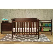 Tyler 4-in-1 Convertible Crib 5-Piece Nursery Set