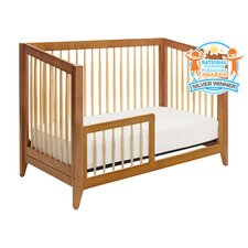 Highland 4-in-1 Convertible Crib with Toddler Rail
