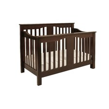 Annabelle 4-In-1 Convertible Crib with Toddler Rail