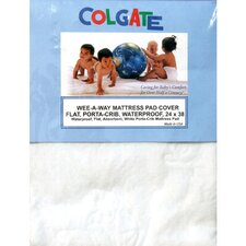 <strong>Colgate</strong> Wee-A-Way Waterproof Portable Crib / Mini Crib Mattress Cover