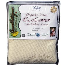 Colgate Organic Cotton Crib Fitted Mattress Cover