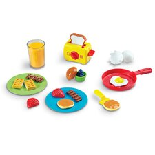 <strong>Learning Resources</strong> Pretend and Play Rise & Shine Breakfast Set