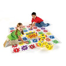 <strong>Learning Resources</strong> Alphabet Marks-the-Spot Floor Mat