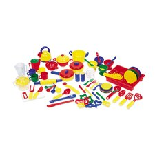<strong>Learning Resources</strong> 70 Piece Pretend and Play Kitchen Set