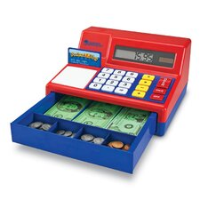 Pretend and Play Calculator Cash Register