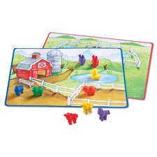 <strong>Learning Resources</strong> Friendly Farm Math Activity 78 Piece Set