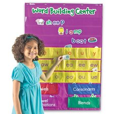 Word Building Center Pocket Chart