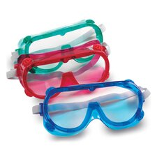 Color Safety Goggles 6 Piece Set