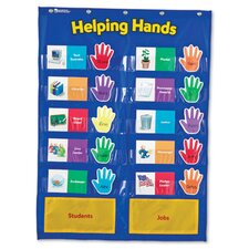 <strong>Learning Resources</strong> Helping Hands Pocket Chart