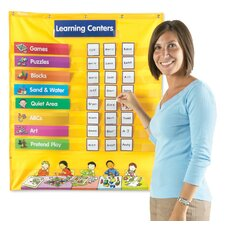 <strong>Learning Resources</strong> Early Learning Centers Pocket Chart