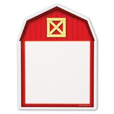 Themed Write and Wipe Boards - Barn (Set of 5)