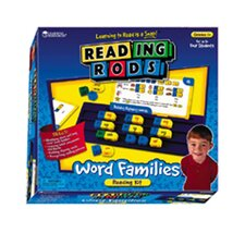 <strong>Learning Resources</strong> Reading Rods Word Families Kit Gr 1